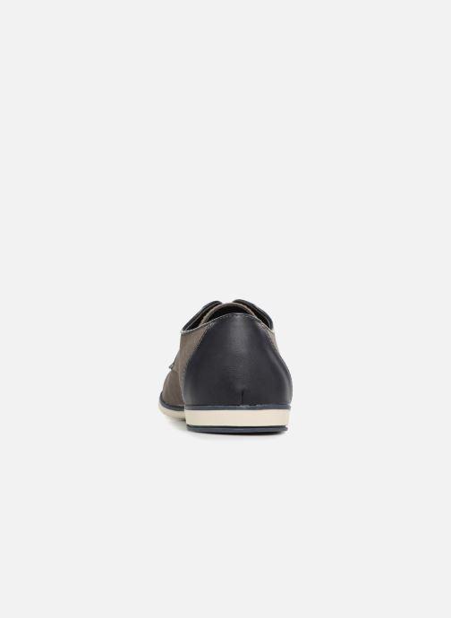 Scarpe con lacci I Love Shoes KEMO Grigio immagine destra