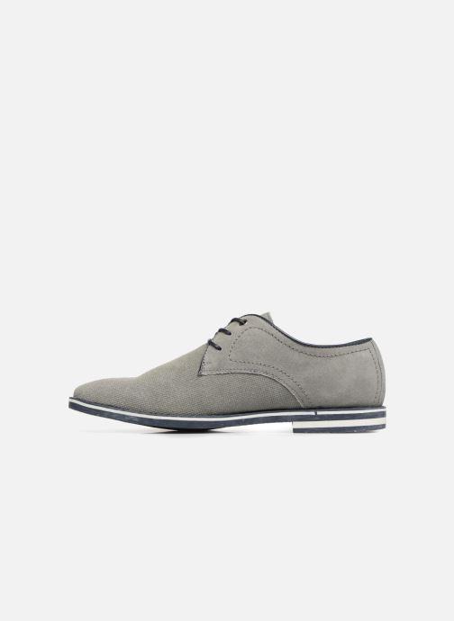 Chaussures à lacets I Love Shoes KELUIR Leather Gris vue face