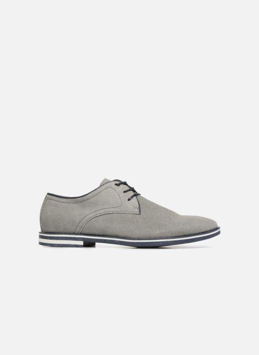 Chaussures à lacets I Love Shoes KELUIR Leather Gris vue derrière