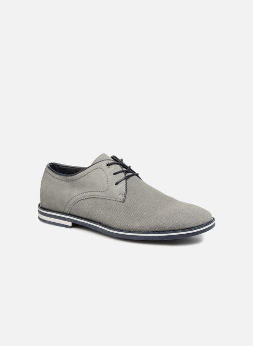 Chaussures à lacets I Love Shoes KELUIR Leather Gris vue détail/paire