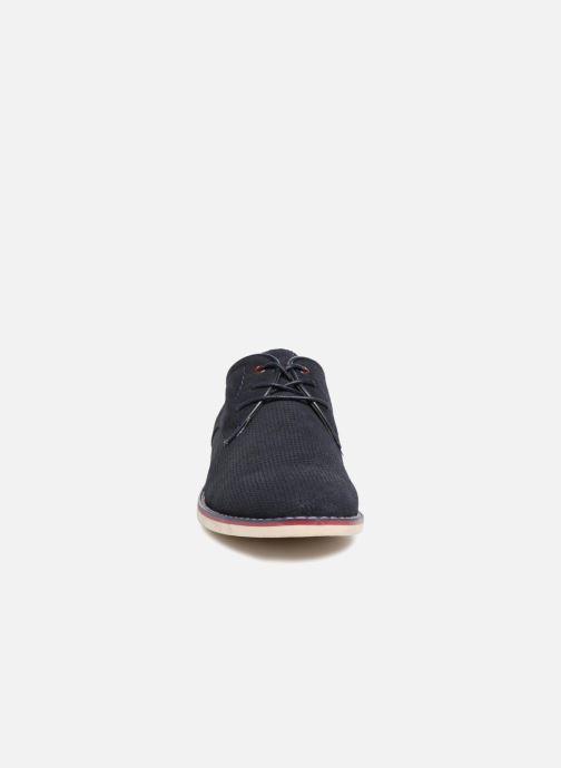 Veterschoenen I Love Shoes KELUIR Leather Blauw model