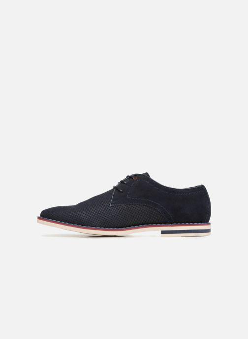 Chaussures à lacets I Love Shoes KELUIR Leather Bleu vue face