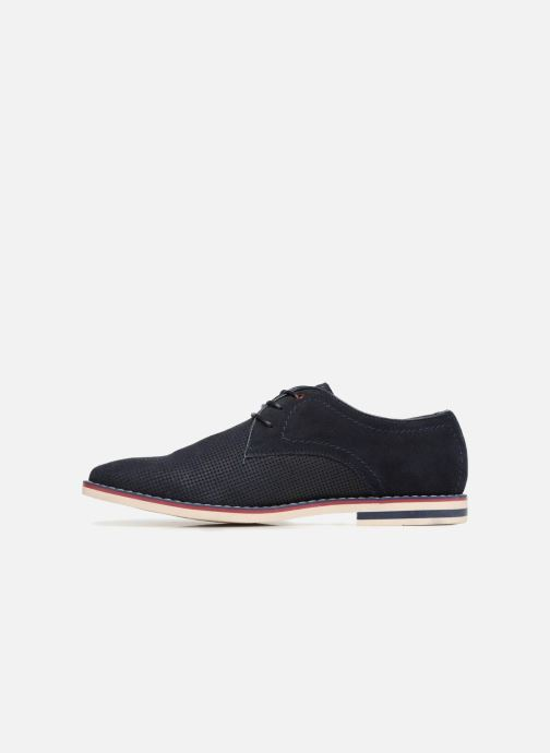 Leather Lacets Love Shoes Chaussures I À Navy Keluir EWDI2H9