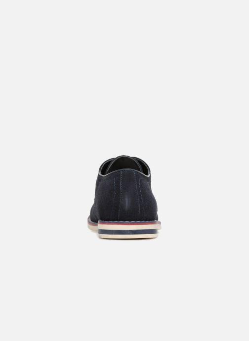 Chaussures à lacets I Love Shoes KELUIR Leather Bleu vue droite