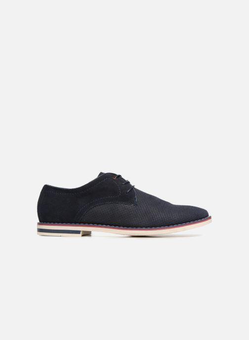 Veterschoenen I Love Shoes KELUIR Leather Blauw achterkant