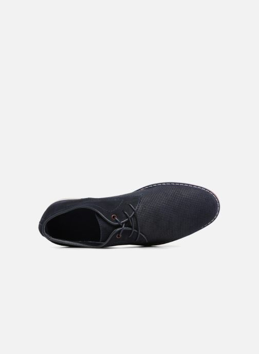 Shoes I À Leather Navy Lacets Love Keluir Chaussures OP80knw