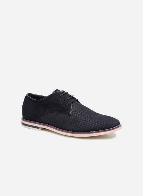 Chaussures à lacets I Love Shoes KELUIR Leather Bleu vue détail/paire
