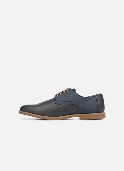 Chaussures à lacets I Love Shoes KANION Bleu vue face