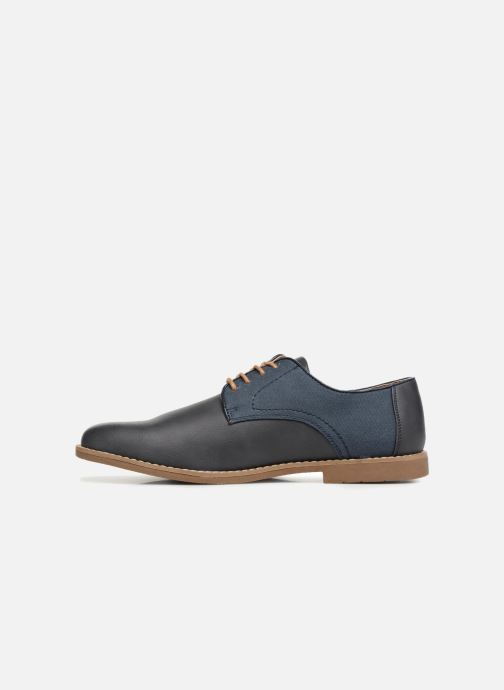 Lace-up shoes I Love Shoes KANION Blue front view