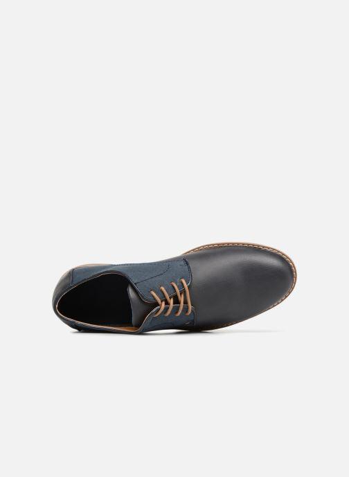 Zapatos con cordones I Love Shoes KANION Azul vista lateral izquierda