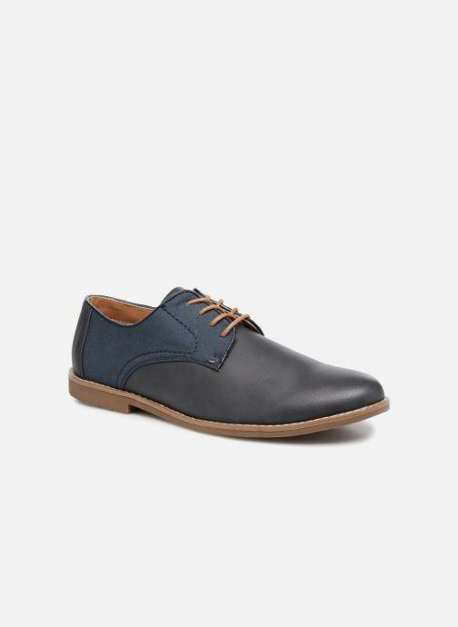 Chaussures à lacets I Love Shoes KANION Bleu vue détail/paire