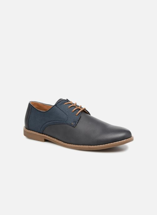 Lace-up shoes I Love Shoes KANION Blue detailed view/ Pair view