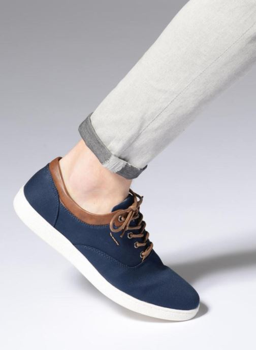 Baskets I Love Shoes KENINO Bleu vue bas / vue portée sac