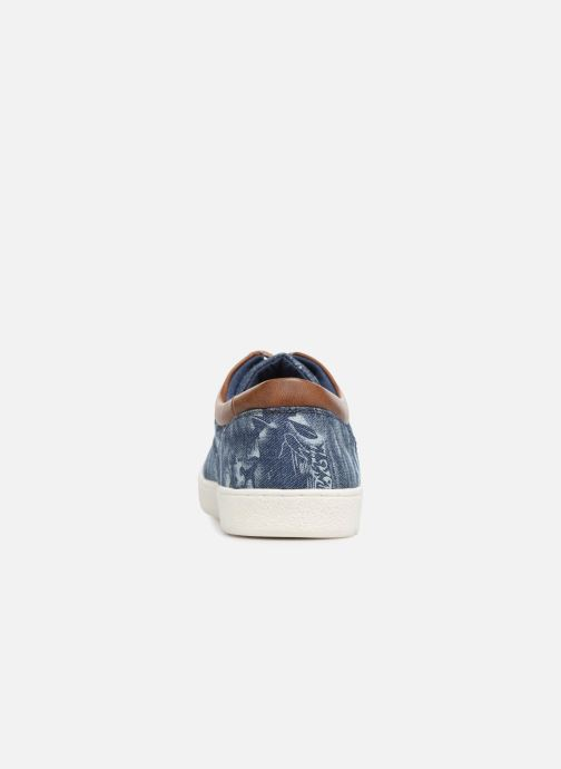 Baskets I Love Shoes KENINO Bleu vue droite