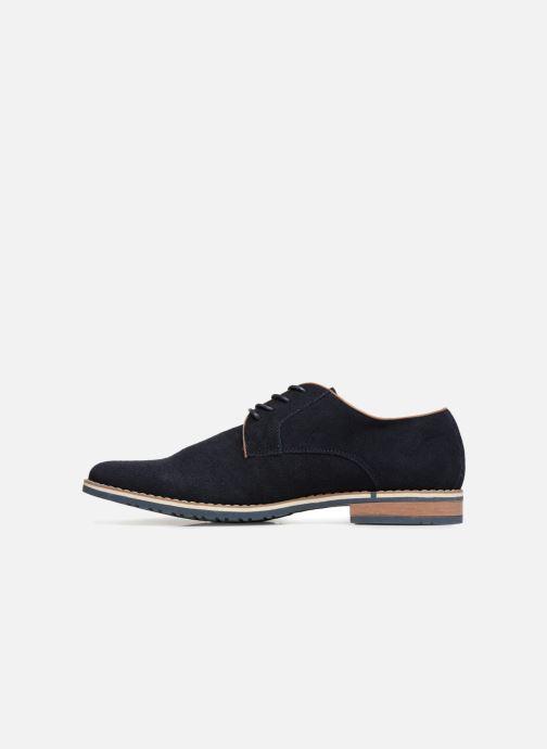 Scarpe con lacci I Love Shoes KERENS Leather Azzurro immagine frontale