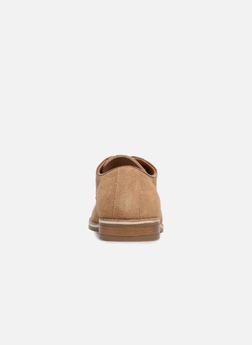 Chaussures à lacets I Love Shoes KERENS Leather Marron vue droite