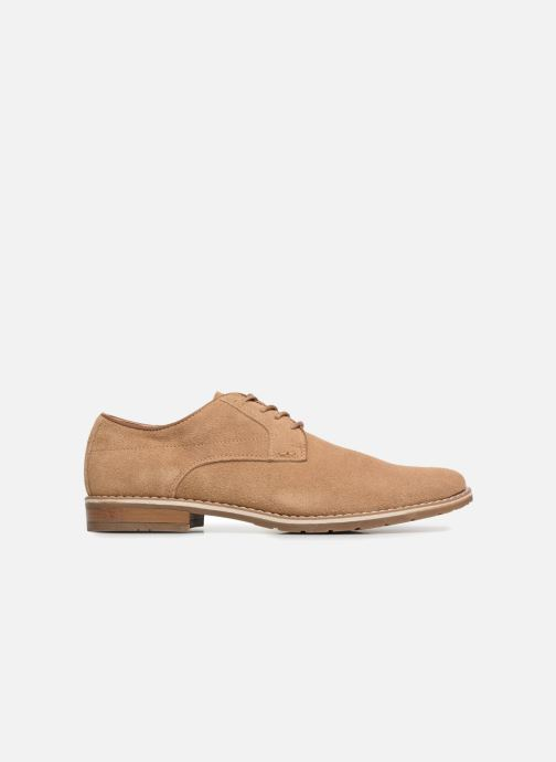 Lace-up shoes I Love Shoes KERENS Leather Brown back view
