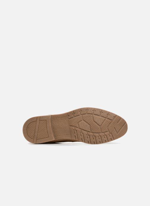 Chaussures à lacets I Love Shoes KERENS Leather Marron vue haut