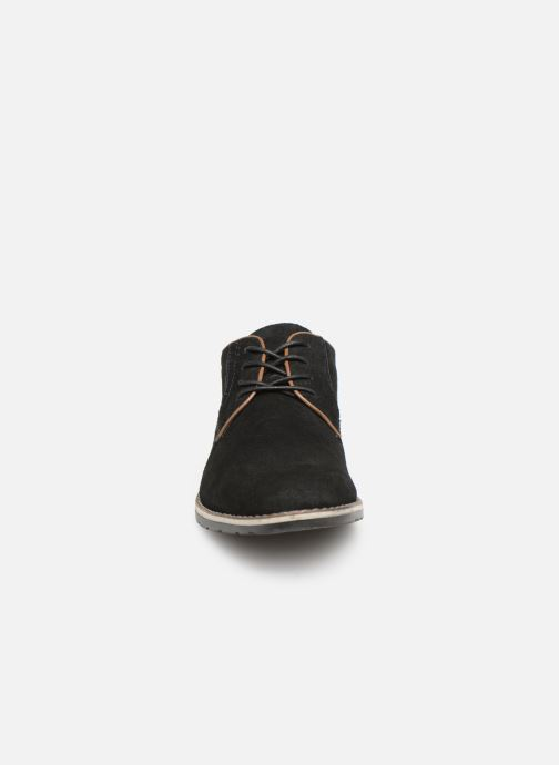 Chaussures à lacets I Love Shoes KERENS Leather Noir vue portées chaussures