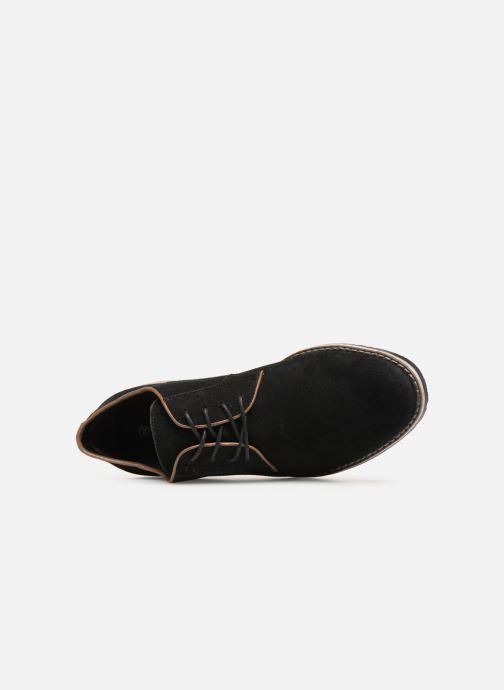 Scarpe con lacci I Love Shoes KERENS Leather Nero immagine sinistra