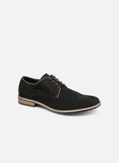 Lace-up shoes I Love Shoes KERENS Leather Black detailed view/ Pair view