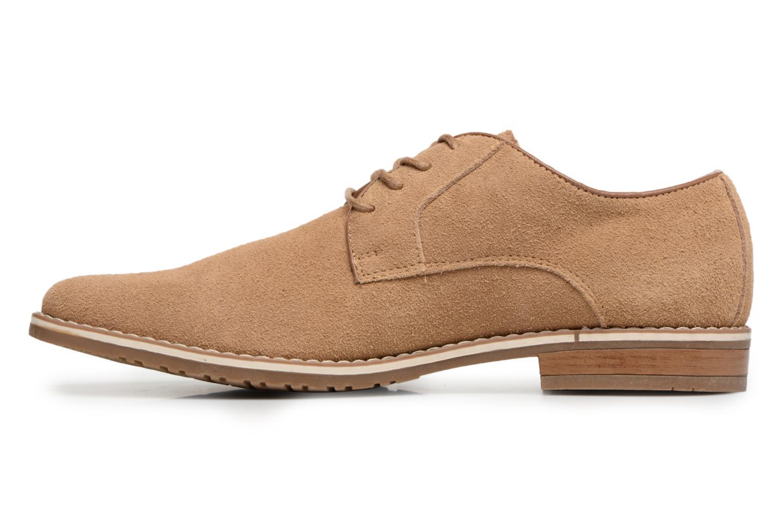 Chaussures à lacets I Love Shoes KERENS Leather Marron vue face