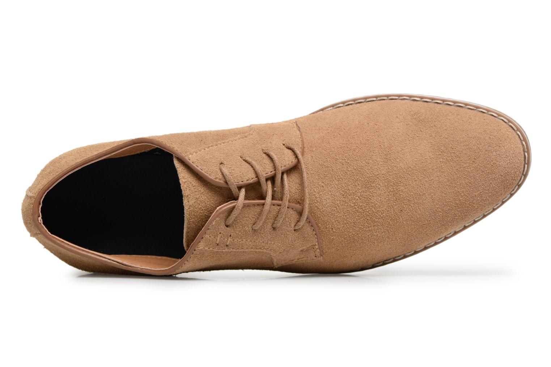 Chaussures à lacets I Love Shoes KERENS Leather Marron vue gauche