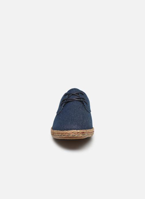Deportivas I Love Shoes KELOMI Azul vista del modelo