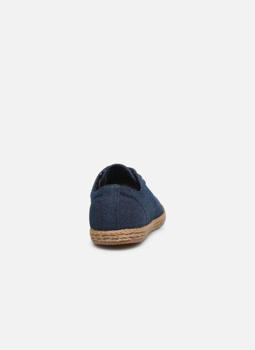 Deportivas I Love Shoes KELOMI Azul vista lateral derecha