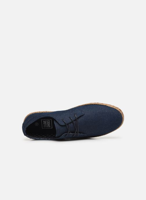 Sneaker I Love Shoes KELOMI blau ansicht von links