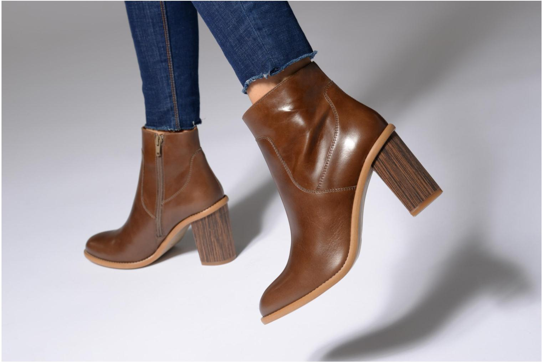 Bottines et boots Made by SARENZA Carioca Crew Boots #1 Noir vue bas / vue portée sac