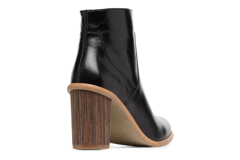 Bottines et boots Made by SARENZA Carioca Crew Boots #1 Noir vue face