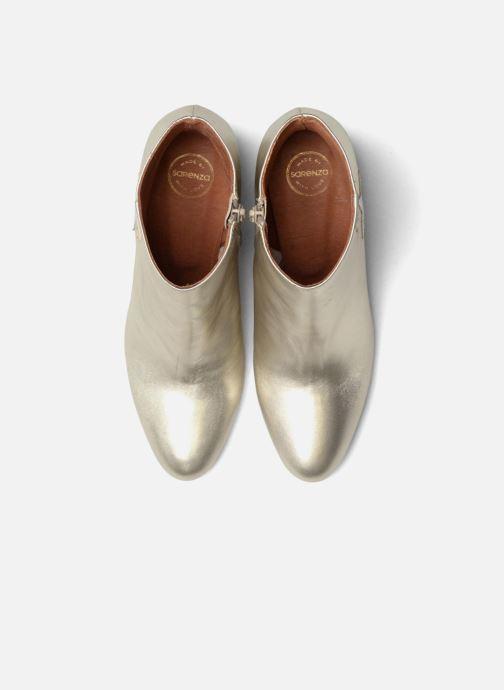Botines  Made by SARENZA 90's Girls Gang Boots #5 Plateado vista del modelo