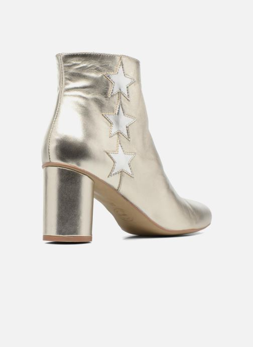 Bottines et boots Made by SARENZA 90's Girls Gang Boots #5 Argent vue face
