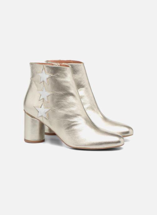 Botines  Made by SARENZA 90's Girls Gang Boots #5 Plateado vistra trasera