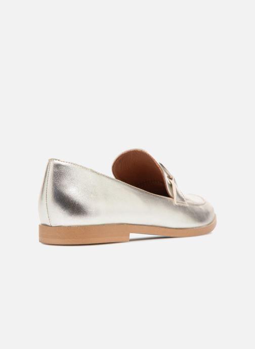 Loafers Made by SARENZA 90's Girls Gang Mocassins #1 Sølv se forfra