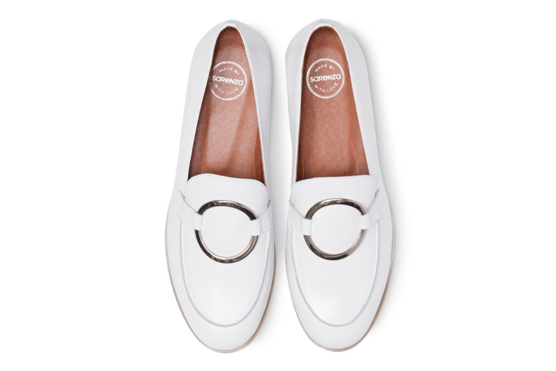 Mocassins Made by SARENZA 90's Girls Gang Mocassins #1 Blanc vue portées chaussures
