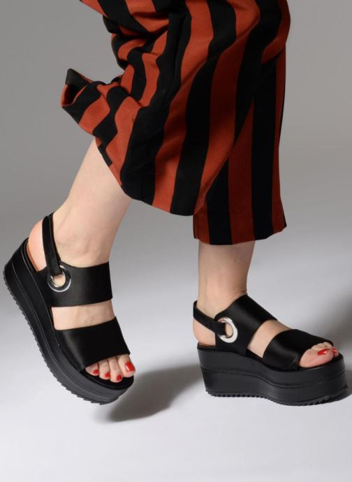 Sandali e scarpe aperte Made by SARENZA 90's Girls Gang Sandales Plates #2 Nero immagine dal basso