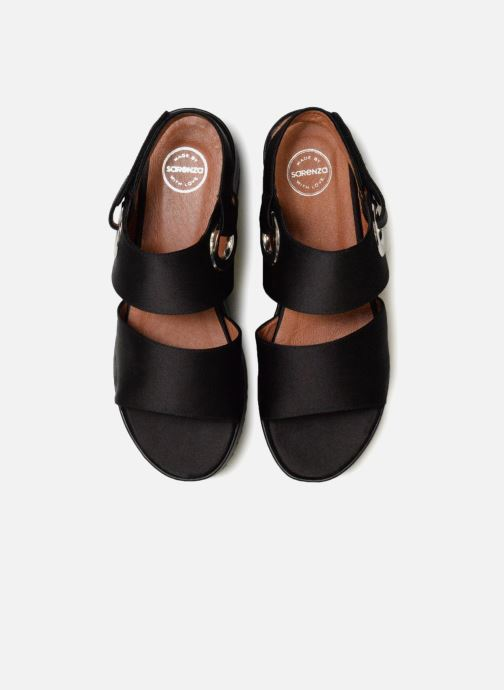 Sandali e scarpe aperte Made by SARENZA 90's Girls Gang Sandales Plates #2 Nero modello indossato