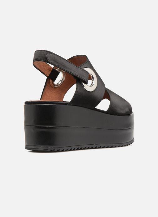 Sandali e scarpe aperte Made by SARENZA 90's Girls Gang Sandales Plates #2 Nero immagine frontale