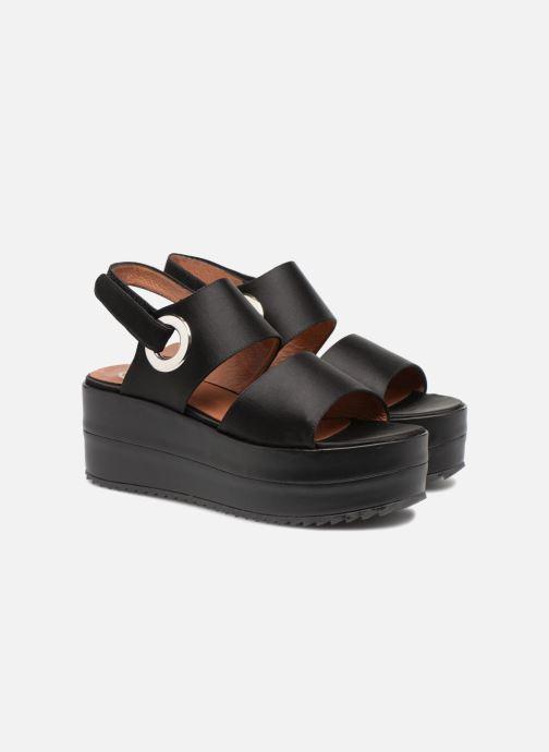 Sandali e scarpe aperte Made by SARENZA 90's Girls Gang Sandales Plates #2 Nero immagine posteriore
