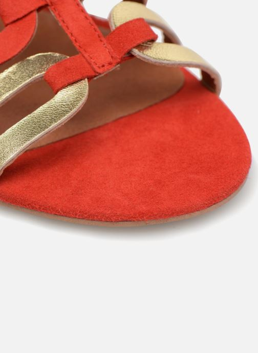 Sandalias Made by SARENZA Carioca Crew Sandales Plates #3 Rojo vista lateral izquierda
