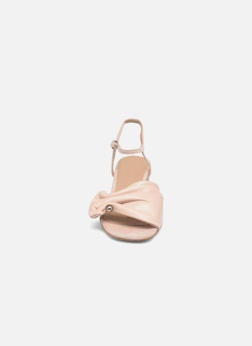 Sandalen An Hour And A Shower Bliss rosa schuhe getragen