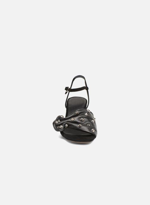 Sandali e scarpe aperte An Hour And A Shower Bliss Nero modello indossato