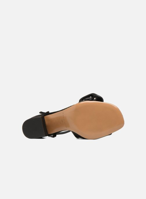 Sandales et nu-pieds An Hour And A Shower Bliss Noir vue haut