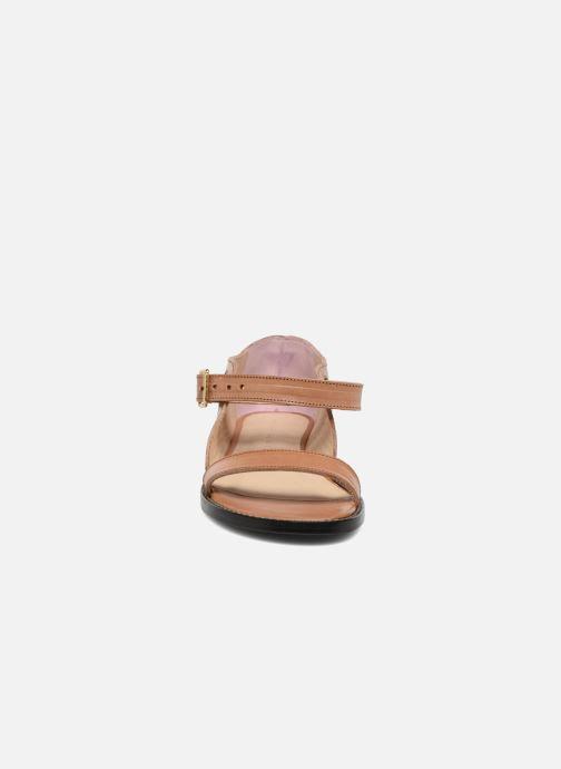 Sandalen An Hour And A Shower Miso braun schuhe getragen