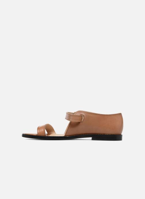 Sandalen An Hour And A Shower Miso braun ansicht von vorne