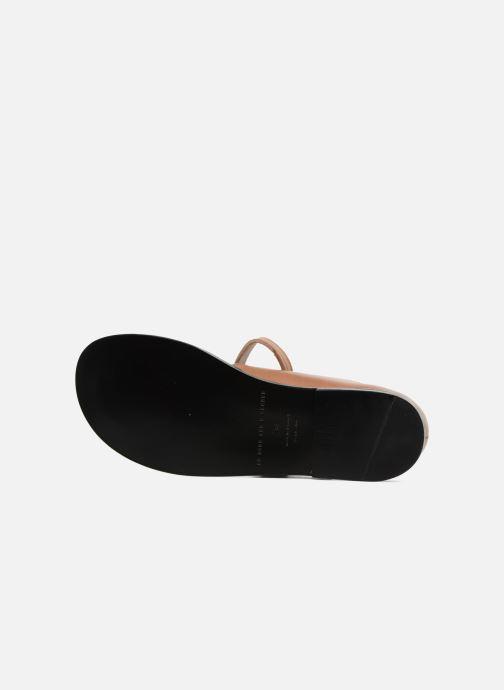 Sandalen An Hour And A Shower Miso braun ansicht von oben