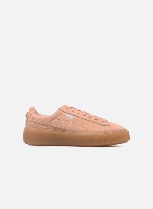 Puma Suede Platform Jewel (Rose) Baskets chez Sarenza (314253)