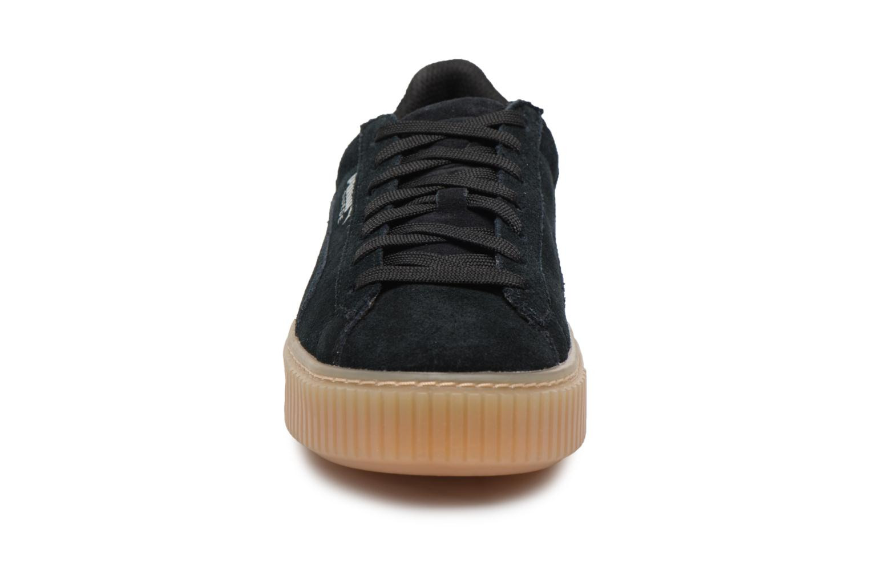 Sneakers Puma Suede Platform Jewel Zwart model